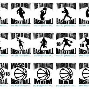 Basketball Vehicle Decals