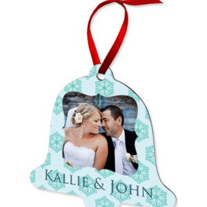 Christmas Bell Ornament-2 Sided