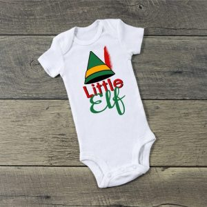 Infant One Piece T-Shirt- Little Elf